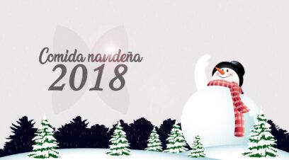 Comida Navidad 2018