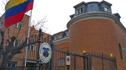 Embajada Colombia fachada